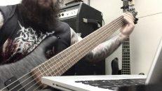 Deeds of Flesh Studio Update/Bass#1
