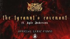 DISTANT - The Tyrannt's Covenant ft. Kyle Anderson (OFFICIAL LYRIC VIDEO)
