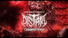 "Distant - ""Tyrannotophia"" (Official Lyric Video)"
