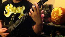 "Deeds of Flesh ""Rise of the Virvum Juggernaut"" guitar play through by Craig Peters."