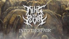 KING OF SCORN - INTO DESPAIR [OFFICIAL LYRIC VIDEO] (2021) SW EXCLUSIVE
